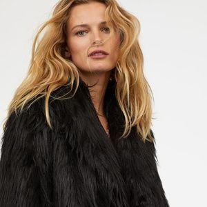 Faux Fur Jacket - H&M